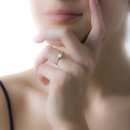 Bague Adeline Or Blanc Diamant - Bagues avec pierre Femme | Histoire d'Or