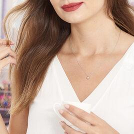 Collier Bilao Argent Blanc - Colliers fantaisie Femme | Histoire d'Or