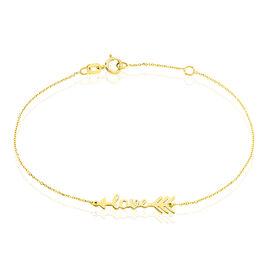 Bracelet Roza Or Jaune - Bijoux Femme | Histoire d'Or