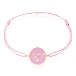 Bracelet Or Jaune - Bracelets cordon Femme   Histoire d'Or