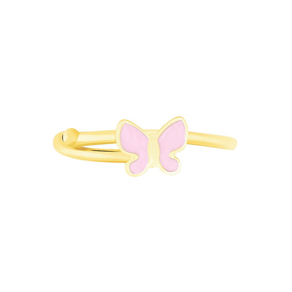 Bague Sienna Papillon Or Jaune - Bagues Papillon Enfant | Histoire d'Or