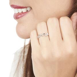 Bague Anthea Or Blanc Diamant - Bagues Plume Femme | Histoire d'Or