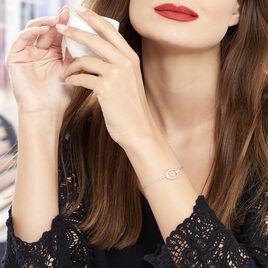 Bracelet Danie Argent Blanc Oxyde De Zirconium - Bracelets fantaisie Femme | Histoire d'Or