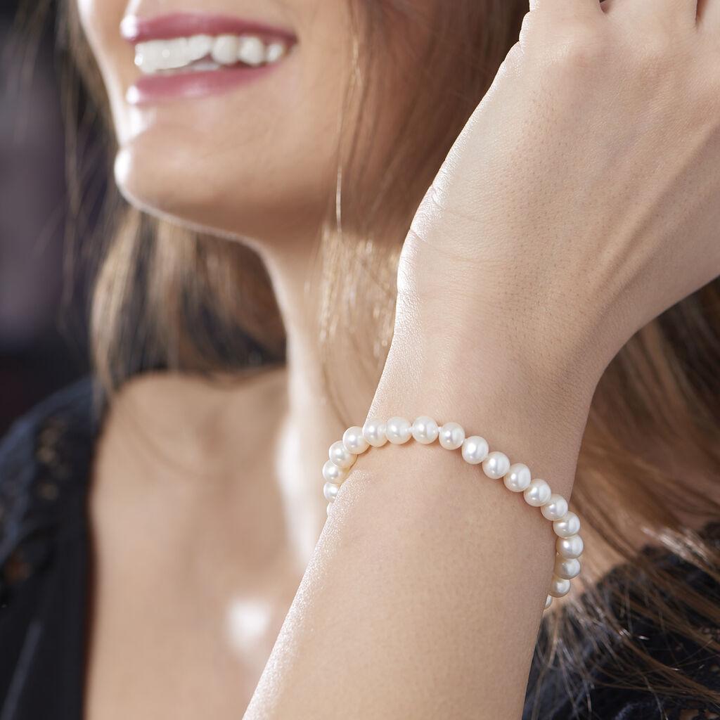 Bracelet Sajdaae Or Jaune Perle De Culture D'akoya - Bijoux Femme | Histoire d'Or