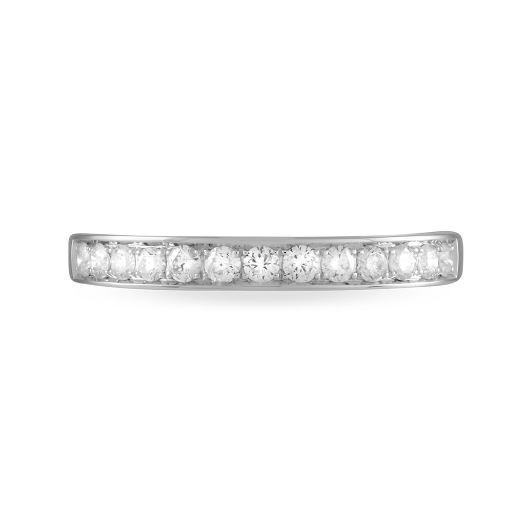 Alliance Collection Juliette Platine Blanc Diamant - Alliances Femme | Histoire d'Or