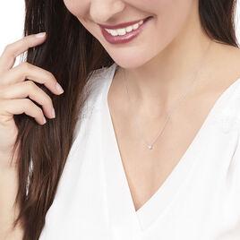 Collier Victoria Or Blanc Diamant - Bijoux Femme | Histoire d'Or