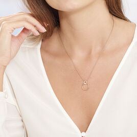 Collier Essia Plaque Or Jaune Oxyde De Zirconium - Colliers fantaisie Femme | Histoire d'Or