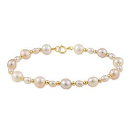 Bracelet Maur Or Jaune Perle De Culture - Bijoux Femme | Histoire d'Or