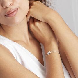 Bracelet Arroxa Or Blanc Diamant - Bijoux Femme | Histoire d'Or