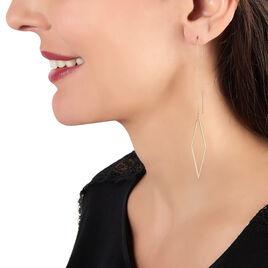Boucles D'oreilles Pendantes Erica Or Jaune - Boucles d'oreilles pendantes Femme | Histoire d'Or
