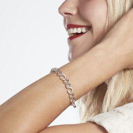 Bracelet Argent Rhodié Teofil Oxydes De Zirconium - Bijoux Femme | Histoire d'Or