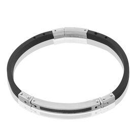 Bracelet Demyae Acier Blanc - Bracelets fantaisie Homme | Histoire d'Or