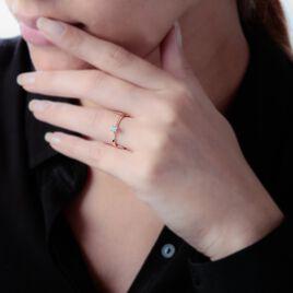 Bague Solitaire Victoria Or Jaune Diamant - Bagues avec pierre Femme   Histoire d'Or