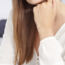 Bracelet Maryeme Infini Selectra Or Jaune - Bracelets Infini Femme   Histoire d'Or