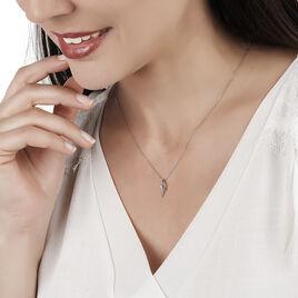 Collier Tylane Or Blanc Diamant - Bijoux Femme | Histoire d'Or