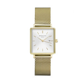 Montre Rosefield The Boxy Blanc - Montres tendances Femme   Histoire d'Or