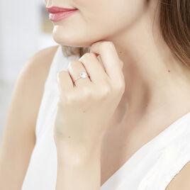Bague Rufina Or Blanc Oxyde De Zirconium - Bagues avec pierre Femme | Histoire d'Or