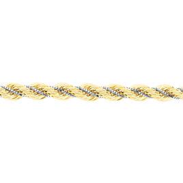 Collier Jerry Danilo Maille Corde Et Venitienne Or Bicolore - Chaines Femme | Histoire d'Or