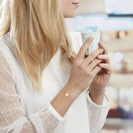Bracelet Or Jaune Ange Pastille Infini - Bracelets Infini Femme | Histoire d'Or