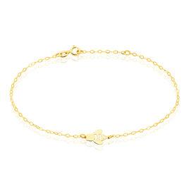 Bracelet Elfida Or Jaune - Bijoux Femme   Histoire d'Or