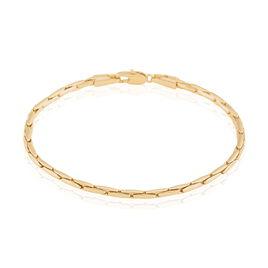 Bracelet Tereza Plaque Or Jaune - Bracelets fantaisie Femme   Histoire d'Or