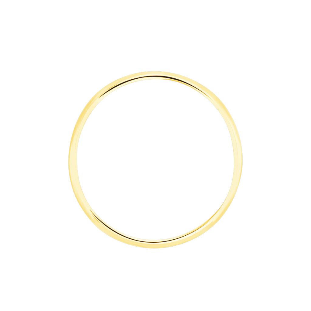 Alliance Demi Jonc Classique Or Jaune - Alliances Unisexe | Histoire d'Or