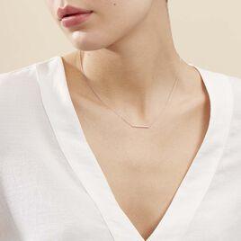 Collier Alayna Or Blanc Diamant - Bijoux Femme | Histoire d'Or