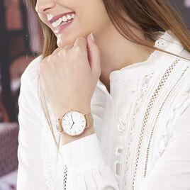 Montre Cluse Boho Chic Blanc - Montres tendances Femme   Histoire d'Or