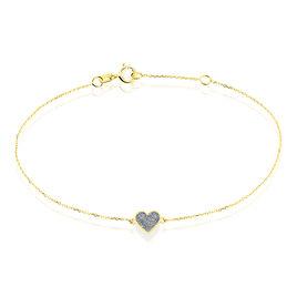 Bracelet Marta Or Jaune - Bracelets Coeur Femme | Histoire d'Or