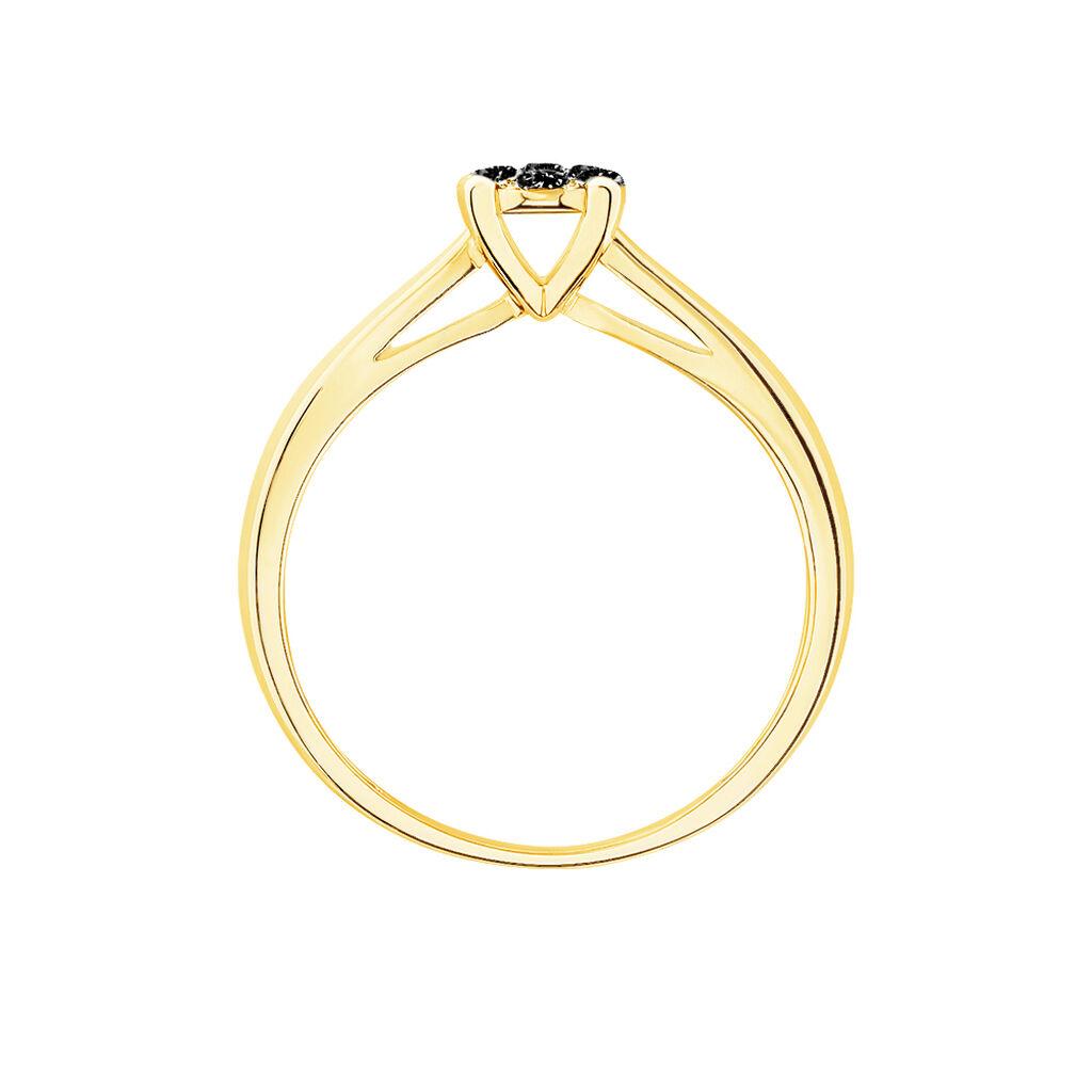 Bague Solitaire Collection Grace Or Jaune Diamant - Bagues avec pierre Femme   Histoire d'Or