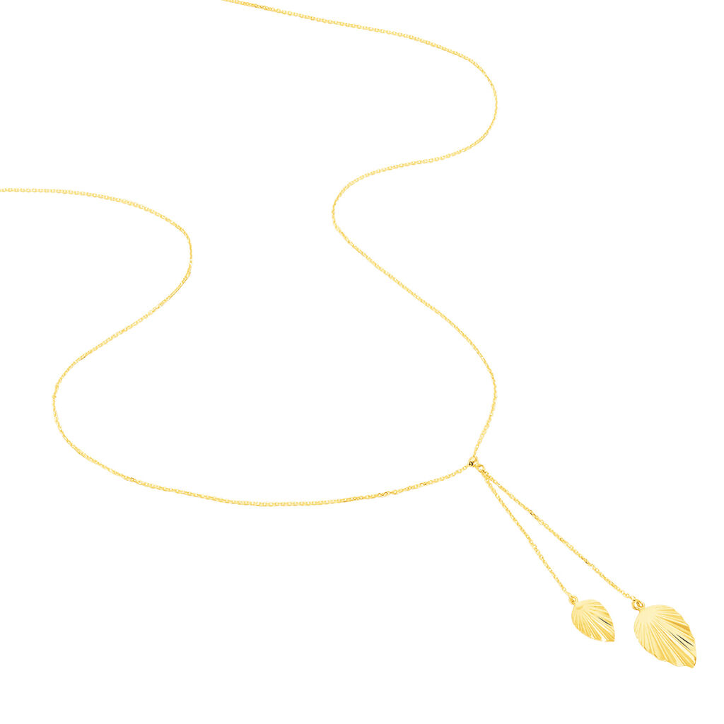 Collier Chrisna Or Jaune - Colliers Plume Femme | Histoire d'Or