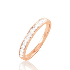 Alliance Collection Juliette Or Rose Diamant - Alliances Femme | Histoire d'Or