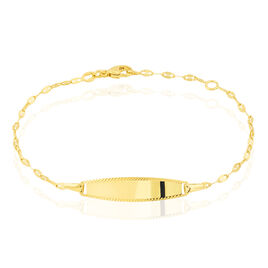 Bracelet Identite Bebe Or Jaune Eowyn - Bracelets Communion Enfant | Histoire d'Or