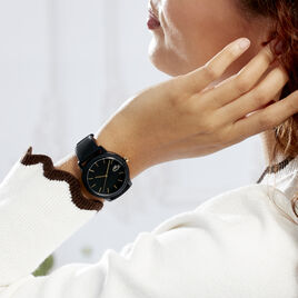Montre Lacoste 12.12 Noir - Montres tendances Femme | Histoire d'Or