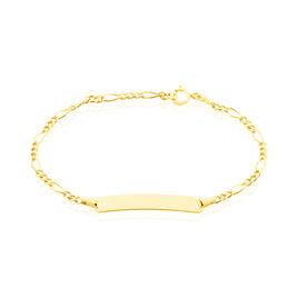 Bracelet Identité Erell Or Jaune - Bracelets Communion Enfant | Histoire d'Or