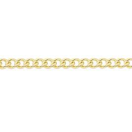 Chaîne Ixia Maille Gourmette Diamantee Or Jaune - Chaines Femme | Histoire d'Or