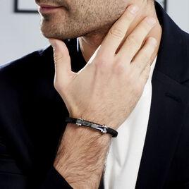 Bracelet Marco Acier Bicolore - Bijoux Homme   Histoire d'Or