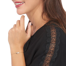 Bracelet Cateline Or Jaune Diamant - Bijoux Femme   Histoire d'Or