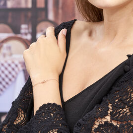 Bracelet Ania Argent Rose - Bracelets fantaisie Femme | Histoire d'Or