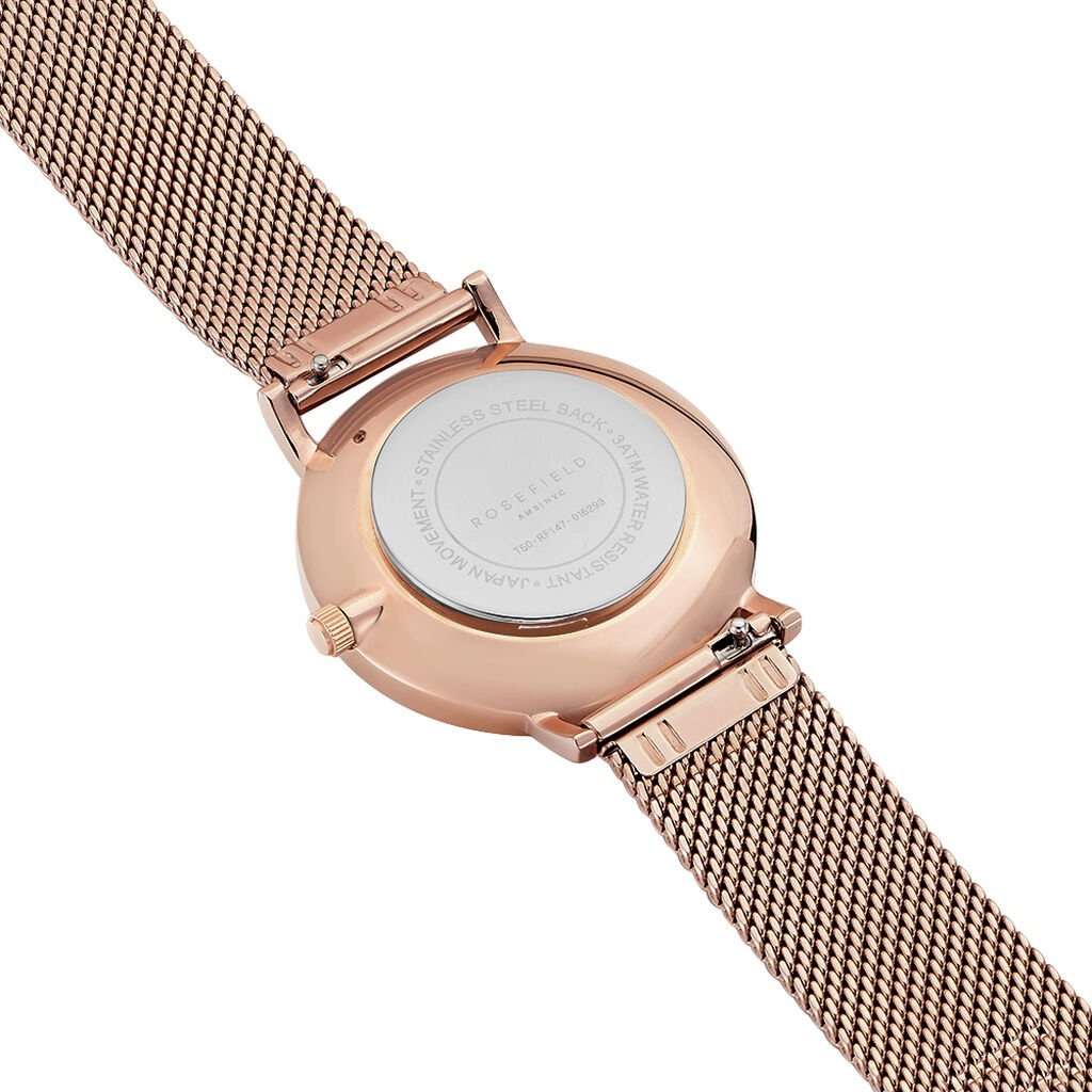 Montre Rosefield The Tribeca Blanc