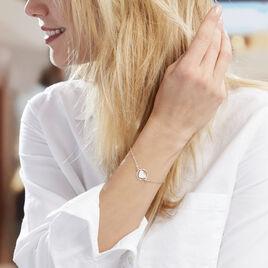 Bracelet Lova Argent Blanc - Bracelets Coeur Femme   Histoire d'Or