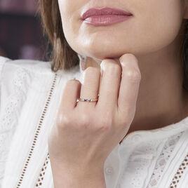 Bague Solitaire Anilie Or Rose Diamant - Bagues solitaires Femme | Histoire d'Or