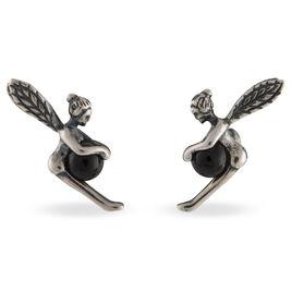 Boucles D'oreilles Pendantes Winifred Argent Blanc Onyx - Boucles d'oreilles fantaisie Femme   Histoire d'Or