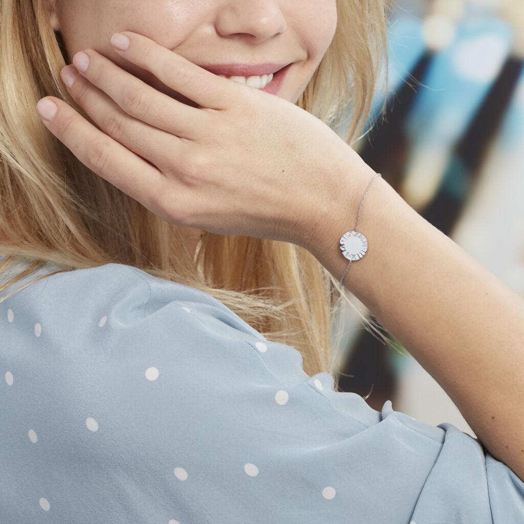 Bracelet Olivea Argent Blanc - Bracelets fantaisie Femme | Histoire d'Or