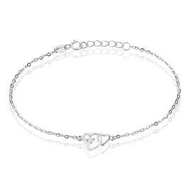 Bracelet Roma Argent Blanc Oxyde De Zirconium - Bracelets fantaisie Femme | Histoire d'Or