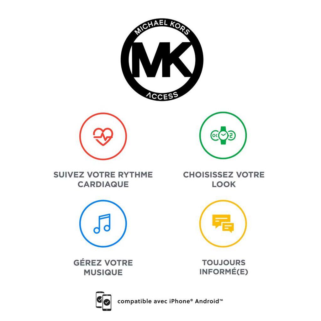 Montre Connectée Michael Kors Full Display Sofie - Montres Femme   Histoire d'Or