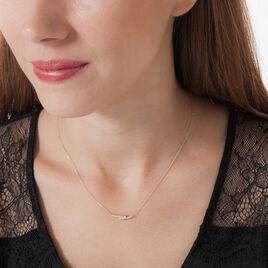 Collier Galya Or Jaune Diamant - Bijoux Femme   Histoire d'Or