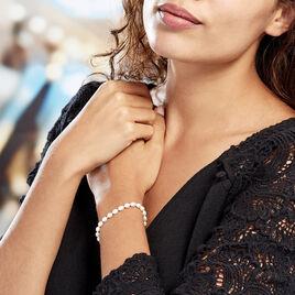 Bracelet Clementia Or Jaune Perle De Culture - Bijoux Femme | Histoire d'Or