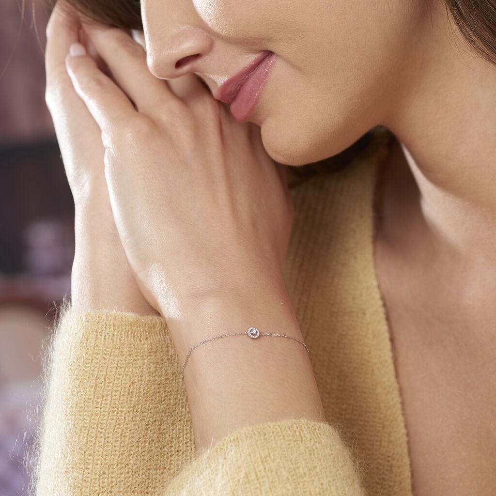 Bracelet Domitia Or Blanc Diamant - Bijoux Femme | Histoire d'Or