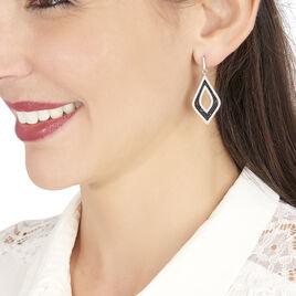 Boucles D'oreilles Pendantes Melissa Argent Blanc Oxyde De Zirconium - Boucles d'oreilles pendantes Femme | Histoire d'Or